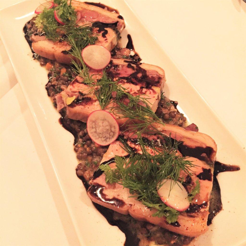 浜松町「オデリスドドディーヌ」の日替わりメニューの前菜。