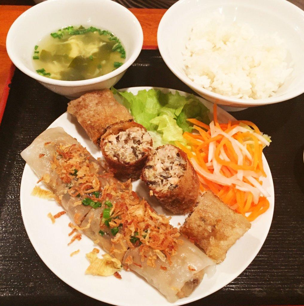 有楽町「サイゴン」の「ネム・クンランチ(1,000円)」