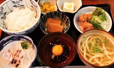 新橋「かおりひめ」の「鯛定食1,240円」
