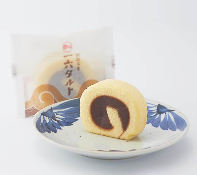 新橋の「せとうち旬彩館」で販売している愛媛県の松山銘菓 タルト。 出典:せとうち旬彩館公式サイトより