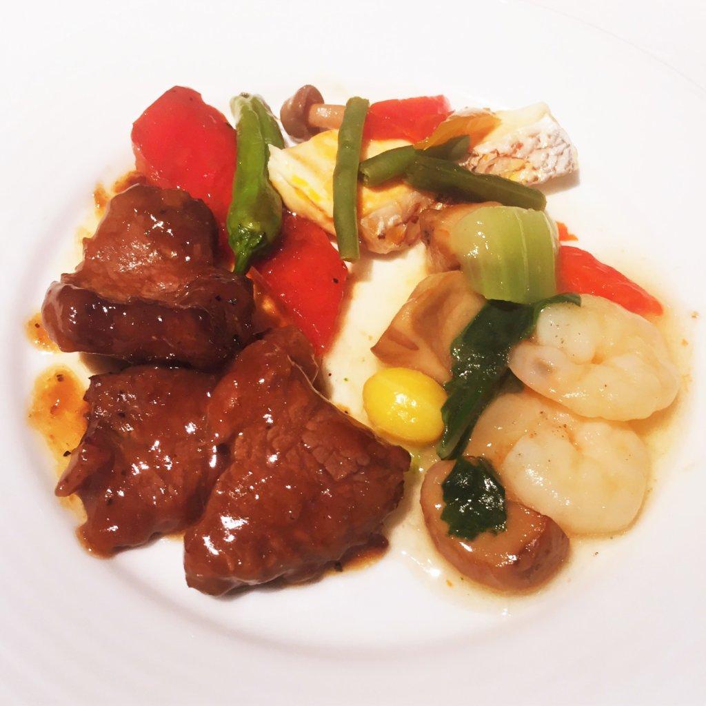 コートヤード・マリオット銀座東武ホテル「フィオーレ」のNYグリル&ブッフェのディナータイムの中華料理メニュー