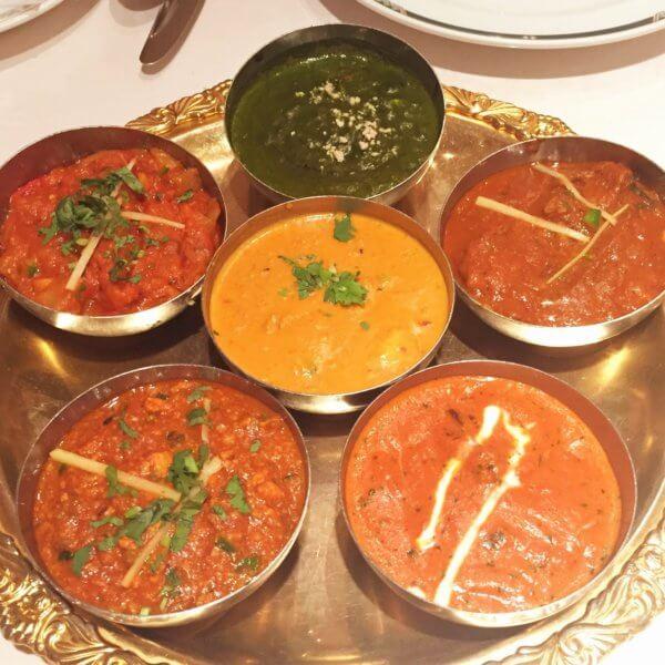 銀座8丁目にある「ラージマハール」では、インドの宮廷料理が楽しめます♪